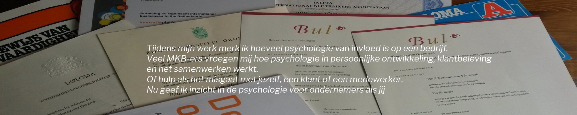 consumenten en sociaal psycholoog Paul van Hartevelt